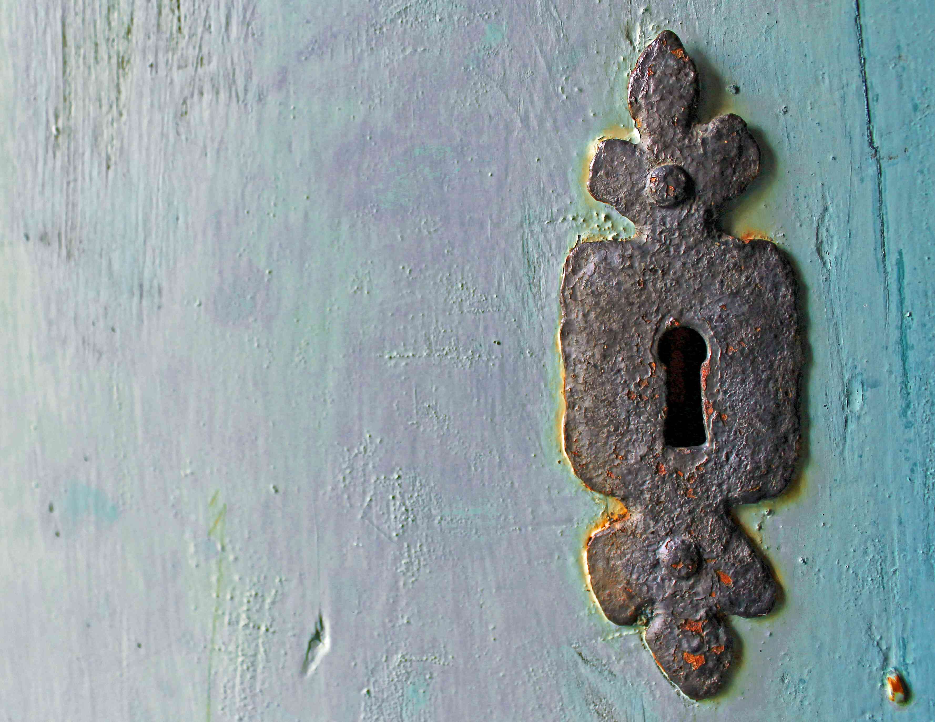 Antique Door Lock - Focal Journey
