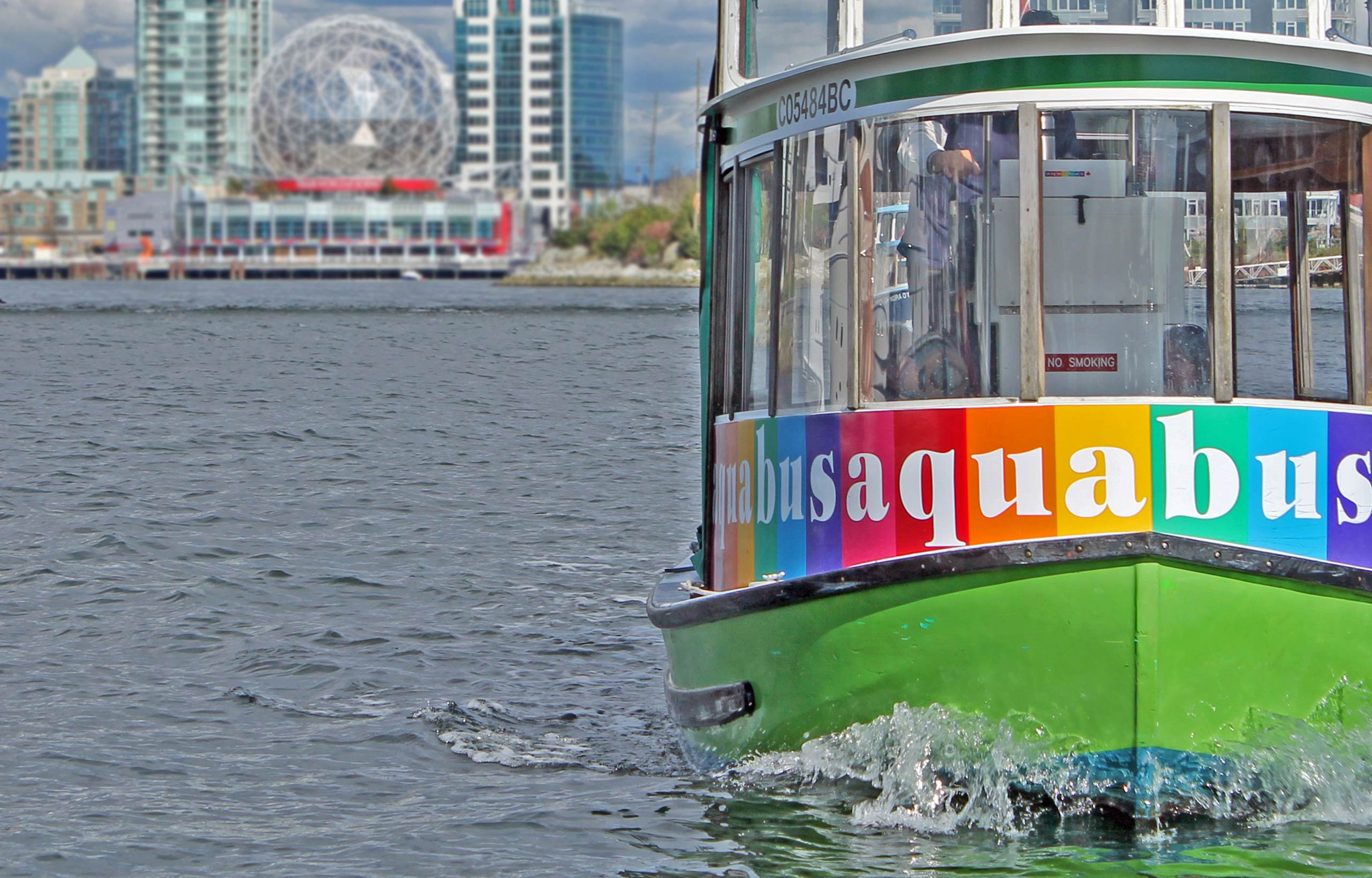 AquaBus and Science World in Vancouver  - Focal Journey