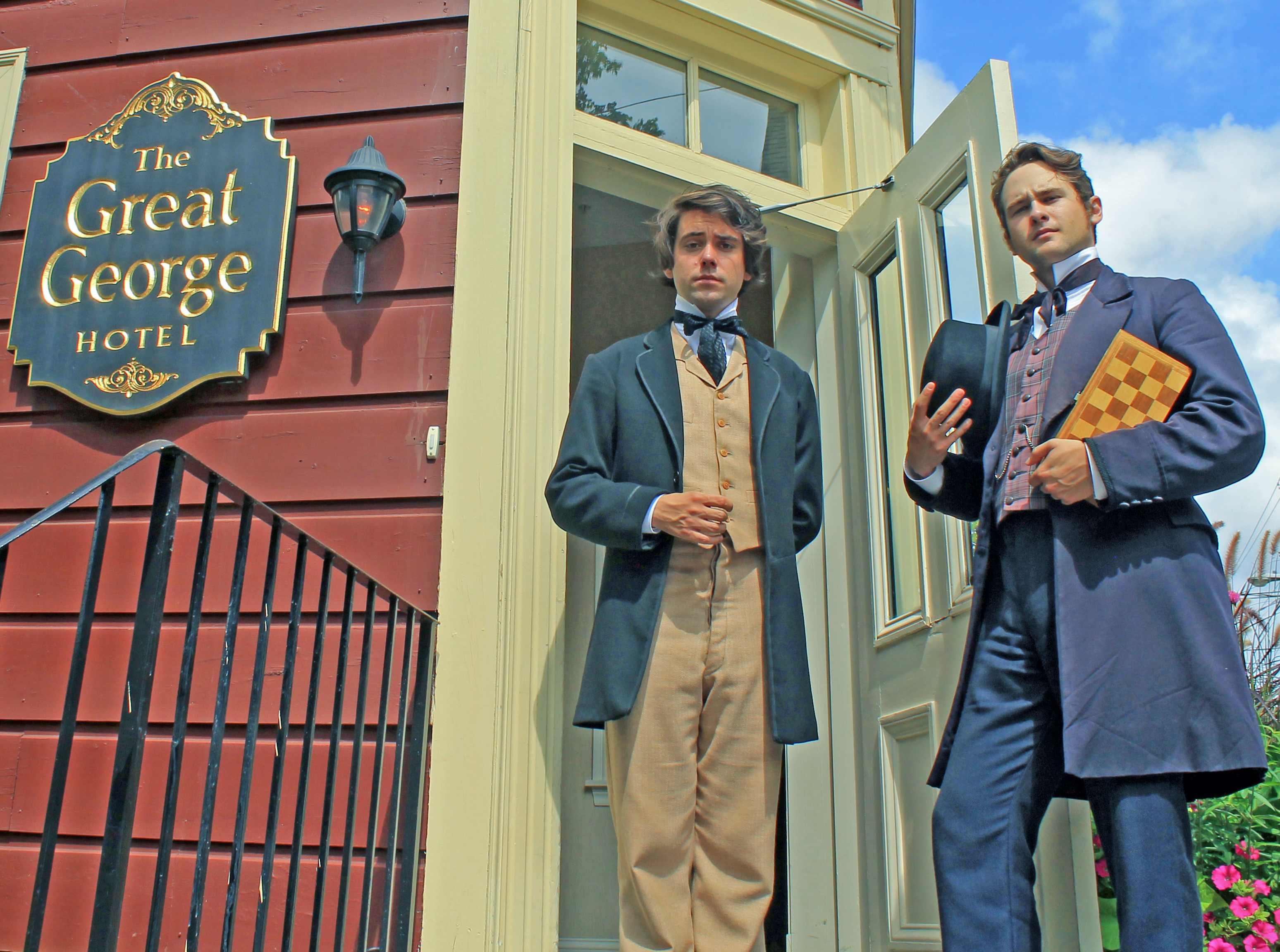 Gentlemen in Charlottetown, PEI - Focal Journey